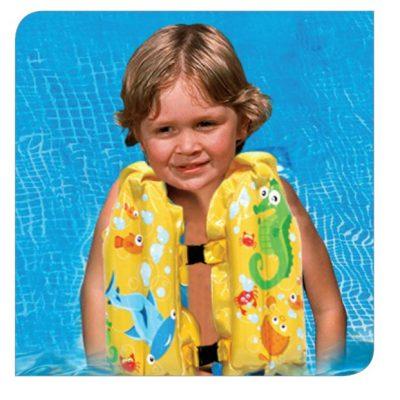 3-Piece Swim Set Swim Vest