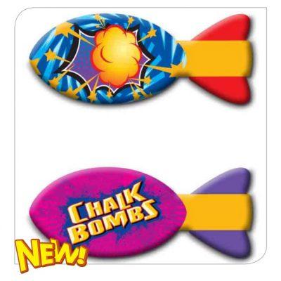 Chalk Bombs Rocket Bombs