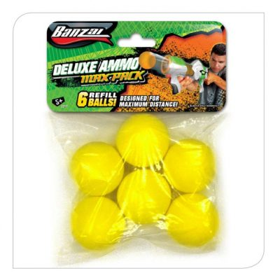 6pcs Foam Ball Refill Pack