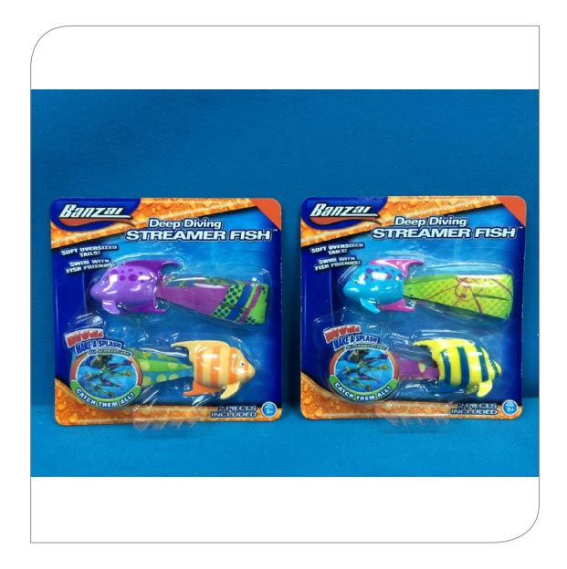 Deep Diving Streamer Fish - Twin Pack