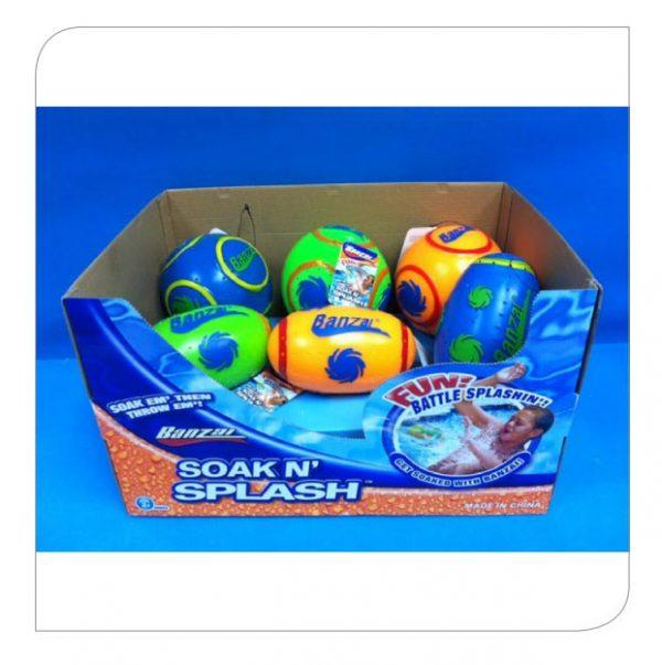Soak 'n Splash Football