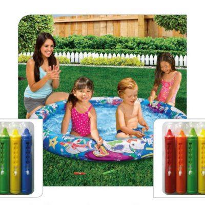 Color Fun Pool (Ocean Pattern)